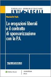 Le erogazioni liberali e il contratto di sponsorizzazione con la P.A.