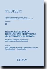 """Le evoluzioni della legislazione elettorale """"di contorno"""" in Europa"""