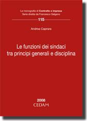 Le funzioni dei sindaci tra principi generali e disciplina