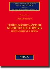 Le operazioni finanziarie nel diritto dell'economia