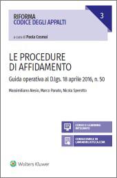Le procedure di affidamento