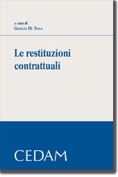 Le restituzioni contrattuali