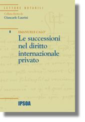 Le successioni nel diritto internazionale privato