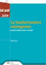 Le trasformazioni eterogeneee degli enti non lucrativi