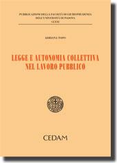 Legge e autonomia collettiva nel lavoro pubblico