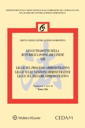 Legge sul processo amministrativo, legge sulle sanzioni amministrative, legge sul riesame amministrativo