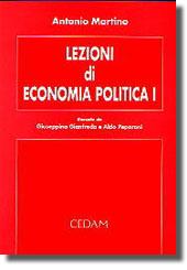 Lezioni di economia politica I