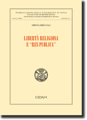 """Libertà religiosa e """"res publica"""""""