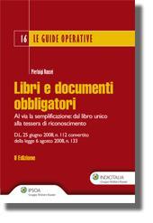 Libri e documenti obbligatori