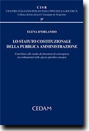 Lo statuto costituzionale della pubblica amministrazione