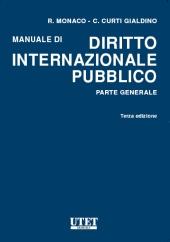 Manuale di diritto internazionale pubblico - Parte generale