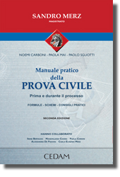 Manuale pratico della prova civile