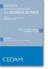 Manuale pratico-operativo del Giudice di pace