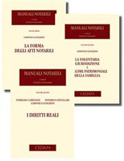 Manuali Notarili: La forma degli atti notarili + La Volontaria Giurisdizione + I diritti reali