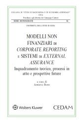 Modelli non finanziari di corporate reporting e sistemi di external assurance. Inquadramento teorico, processi in atto e prospettive future