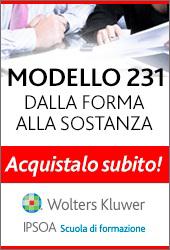 Modello 231: dalla forma alla sostanza
