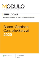 Modulo Enti locali 2016 - Bilanci Gestione Controllo Servizi