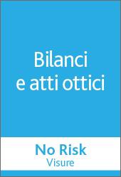 No Risk - BILANCI E ATTI OTTICI