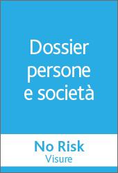 No Risk - DOSSIER  PERSONE E SOCIETA'