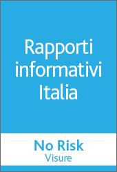 No Risk - RAPPORTI INFORMATIVI   ITALIA  - CERVED