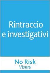 No Risk - RINTRACCIO E INVESTIGATIVI