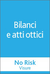 No Risk Visure - Bilanci e atti ottici