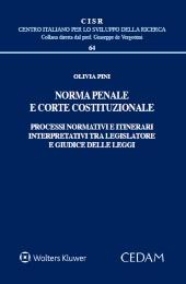 Norma penale e Corte costituzionale.