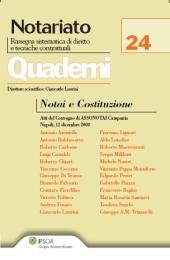 Notai e Costituzione