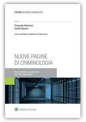 Nuove pagine di criminologia