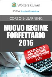 Nuovo regime forfettario 2016