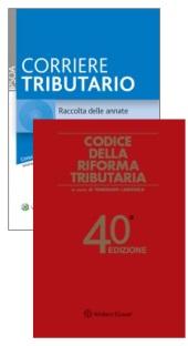 Offerta Codice della Riforma Tributaria + Corriere Tributario CD Raccolta delle annate