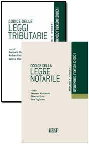 Offerta Codice delle leggi tributarie + Codice della Legge notarile