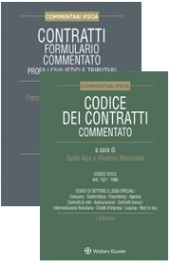 Offerta Contratti: Codice commentato + Formulario commentato (con cd-Rom)