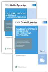 Offerta Controllo di gestione nelle aziende che producono su commessa + Excel per il controllo di gestione
