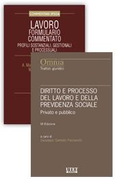 Offerta Diritto e processo del lavoro e della previdenza sociale + Formulario commentato
