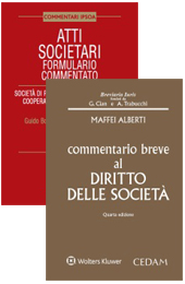 Offerta Diritto societario: Commentario breve + Formulario commentato
