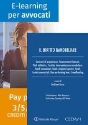 Offerta: Il diritto immobiliare + E-learning per avvocati (pacchetti 3 crediti formativi)
