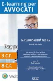 Offerta: La responsabilità medica + E-learning per avvocati (pacchetto  3 crediti formativi)