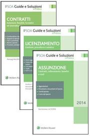 Offerta Lavoro - 3 Volumi: Assunzione + Licenziamento + Contratti