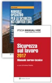 Offerta: Manuale Sicurezza sul Lavoro + Sicurezza nei cantieri edili