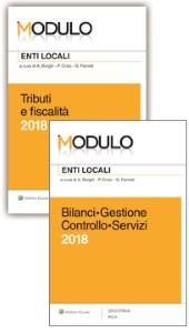 Offerta Modulo Enti locali 2 eBook: Tributi e fiscalità 2018 + Bilanci Gestione Controllo Servizi 2018