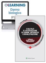 Offerta Volume + Software Calcolo e liquidazione di Danni, Interessi, Rivalutazione + e-learning Danno biologico