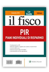 PIR - Piani Individuali di Risparmio