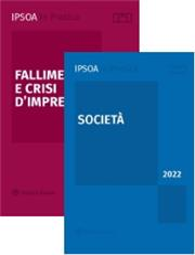 Pacchetto 2 volumi: Fallimento e crisi d'impresa + Società