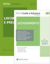 Pacchetto 2 volumi: LICENZIAMENTO + LAVORO E PREVIDENZA
