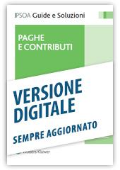 Paghe e contributi - Libro Digitale sempre aggiornato
