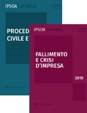 Paghi 1 prendi 2! Procedura civile e ADR + Fallimento e crisi d'impresa