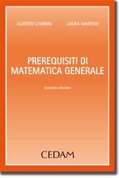 Prerequisiti di Matematica Generale