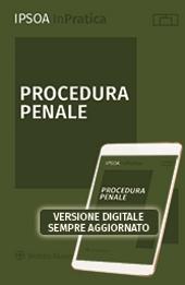 Procedura penale - Libro digitale sempre aggiornato
