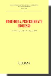 Procedura, procedimento, processo